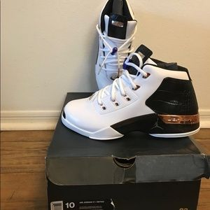 075a8977e968 Jordan Shoes - Jordan Retro 17s white gold Black